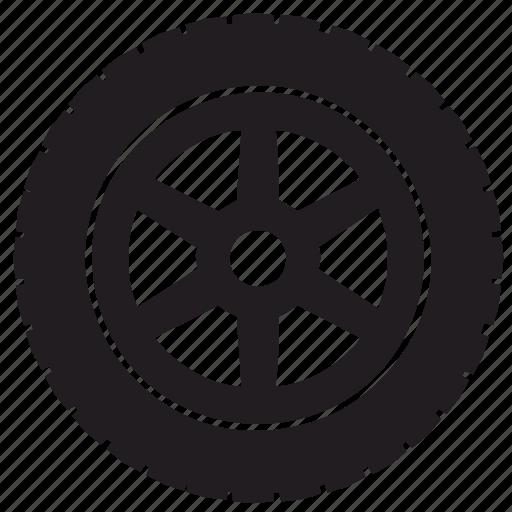 auto, tire, transport, truck icon