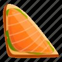avocado, fish, food, salmon, toast