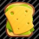 bread, breakfast, cheese, food, morning, toast