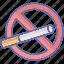no cigarette, no smoking, quit smoking, smoking forbidden icon