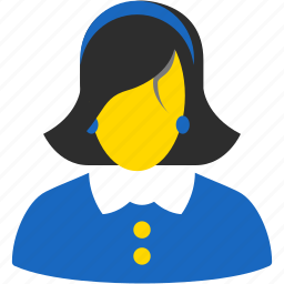 account, avatar, client, contact, customer, female, girl, human, lady, manager, member, people, person, profile, user, users, woman icon