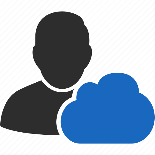 account, avatar, client, cloud, cloud service, contact, customer, human, man, manager, member, people, person, profile, user, users icon