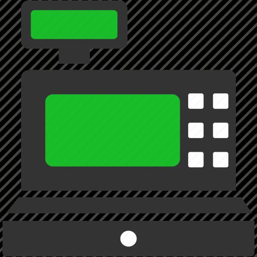 business, cash register, check, order, payment, sales, shop icon