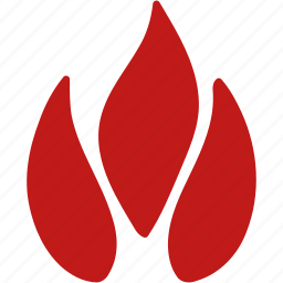 alarm, burn, eraser, fire, flame, light, warning icon