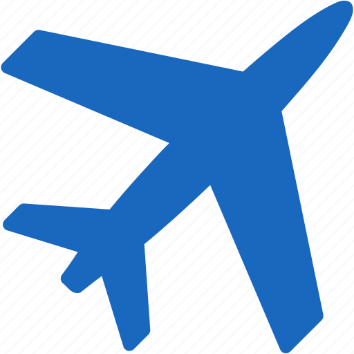 Aircraft Airplane Airport Navigation Plane Ticket Travel Icon