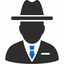 agency, agent, boss, detective, police, spy, thief icon