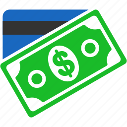 card, currency, dollar, finance, money, payment, purchase icon