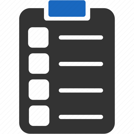 check, document, file, invoice, list, order, report icon