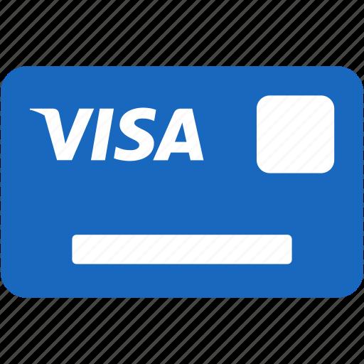 bank, bank card, debit card, finance, money, payment, visa icon
