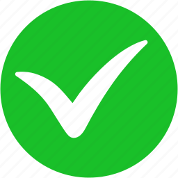 accept, apply, approve, confirm, ok, tick, yes icon