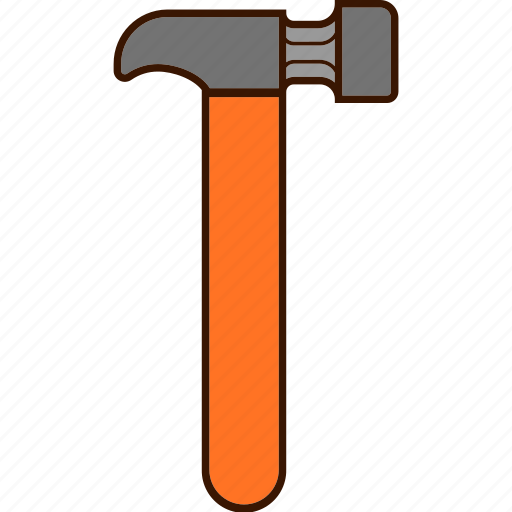 hammer, tools, work icon