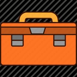 toolbox, tools, work icon