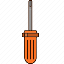 screwdriver, tools, work icon