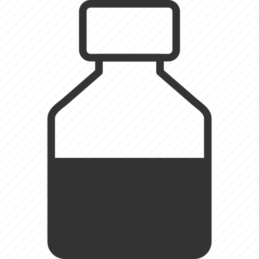 bottle, can, container, drink, liquid, tube, vial icon