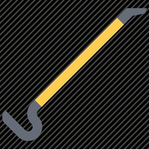 builder, building, crowbar, repair, tool, tools icon