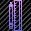 builder, building, pencil, repair, ruler, tool, tools icon