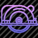 builder, building, circular, repair, saw, tool, tools icon