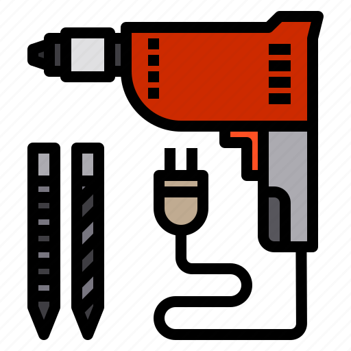 Drill, drilling, machine, tool, tools icon - Download on Iconfinder