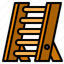 equipment, ladder, stepladder, tool, tools icon