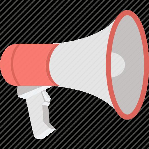 announcement, business announcement, communication, loudspeaker, megaphone icon