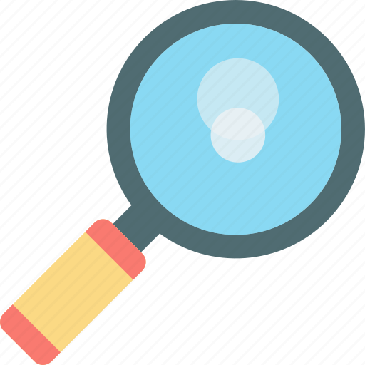 focus icon, loupe, magnifier, magnifying glass, searching tool icon
