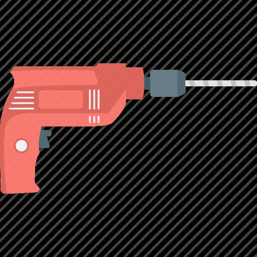 drill machine, hardware equipment, power tool, screwdriver, wall driller icon