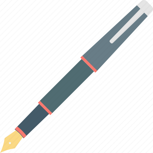 edit concept, fountain pen, pen, vintage sheaffer, writing instrument icon