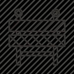 block, construction, light, road, transport icon