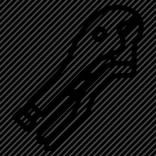 grip, plier, tool, vise icon