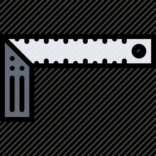 builder, building, corner, repair, ruler, tool, tools icon