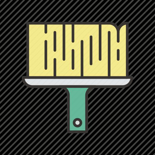 brush, equipment, paint, painting, repair, tool icon