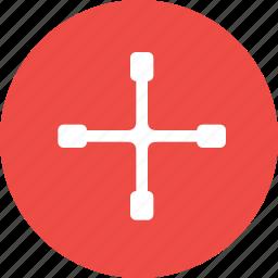 car, equipment, revolving, screwdriver, service, tool, toolbox icon