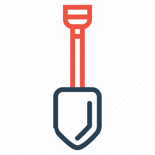 digging, equipment, machine, shovel, tool icon