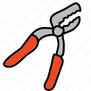 building, screw, nails, construction, tools icon