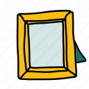 frame, furniture, interior, picture, tools icon