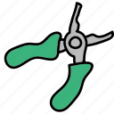 construction, handwork, nails, pliers, tools icon