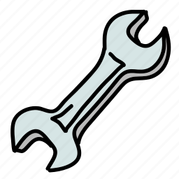 building, construction, nails, screw, tools, wrench icon