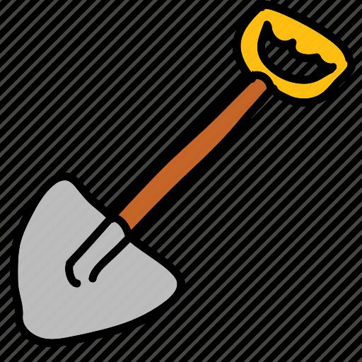 construction, dig, gardening, handwork, shovel, tools icon