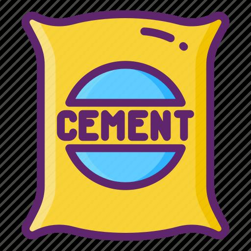 Cement, mixer, concrete, bag icon - Download on Iconfinder