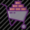 construction, materials, bricks