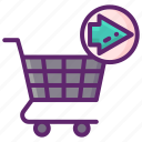 continue, shopping, shop, ecommerce