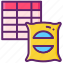materials, database, info, information