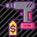 power, tool, rental