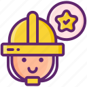 specialty, contractors, business, face, helmet
