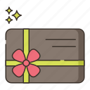 gift, card, credit, present