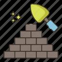 masonry, bricks, wall, construction