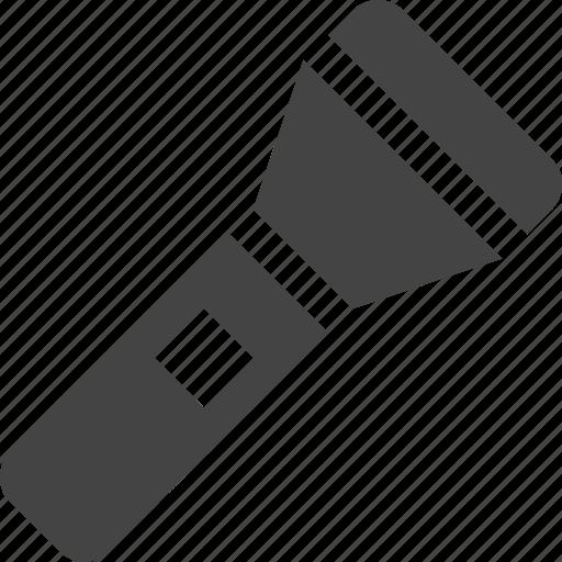 flashlight, tool, utility icon