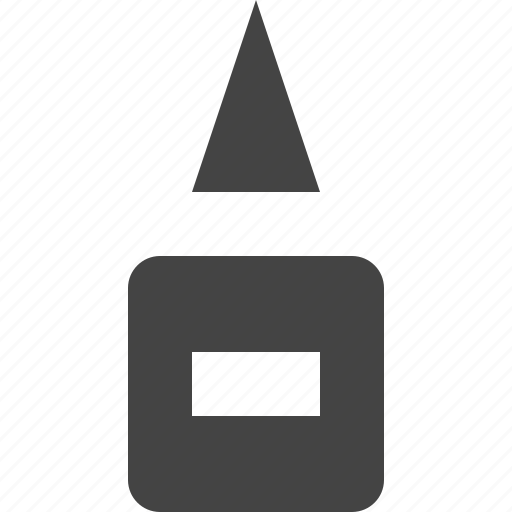 glue, tool, tube, utility icon