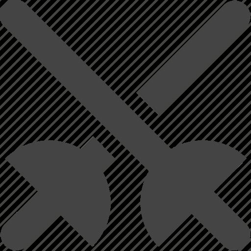 sword, tool, utility icon