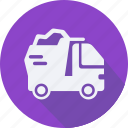 construction, dump, tool, truck, utensils icon